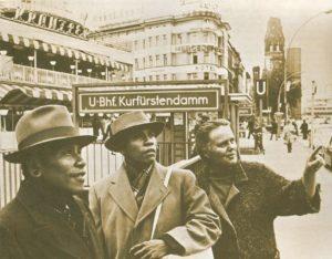 Kimo and Komi with Rachel Saint in Berlin