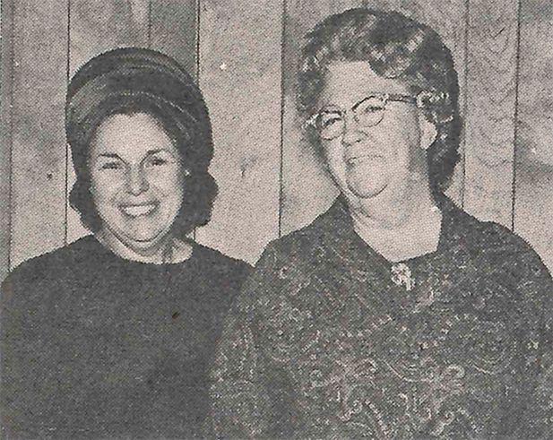Mrs. Paul Griffith, Dorcas Class; Mrs. E. C. Clark, Deborah Class