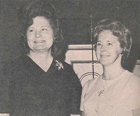 Mrs. Doyle Stanfield, Geneva Circle; Mrs. Dudley Pyeatt, Ellen Circle