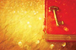 key on book