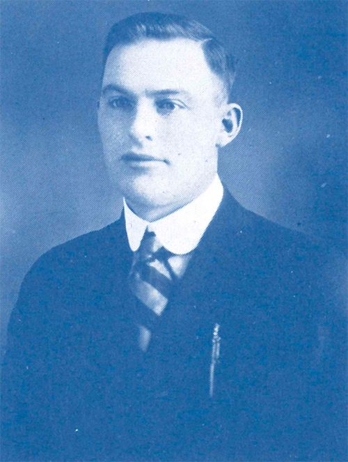 Henry Soderberg at 29 years of age.