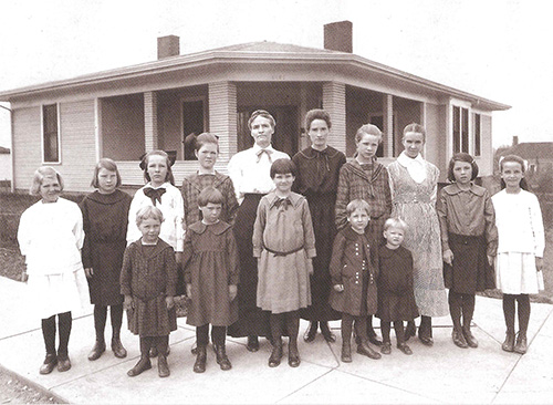 In 1920, the Church of God opened it's first orphanage in Cleveland, Tennessee.